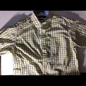 Nautica classic fit Casual button up shirt Yellow